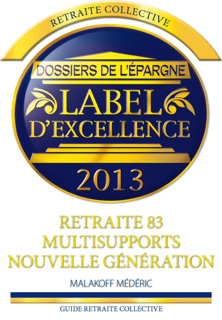 Label d'Excellence 2013 - Retraite 83 Multisupports